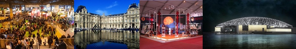 centres d'expositions
